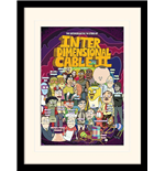 Rick And Morty - Stars Of Interdimensional Cable (Stampa In Cornice 30X40 Cm)