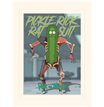 Rick And Morty - Pickle Rick (Stampa 30X40 Cm)