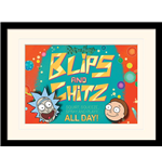 Rick And Morty - Blips And Chitz (Stampa In Cornice 30X40 Cm)