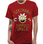 T-shirt Rick And Morty - Design: Szechuan Sauce