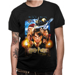 T-shirt Harry Potter - Design: Sorcerers Stone Movie Poster
