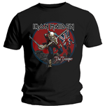 T-shirt Iron Maiden da uomo - Design: Trooper Red Sky