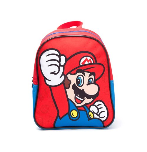 8e637fa7de Acquista Nintendo - Mario Kids Mini Red (Zaino) Originale