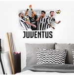 Sticker Murale Juventus Top Players