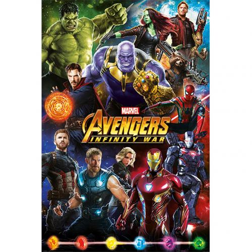 Poster Agente Speciale - The Avengers Infinity War 201
