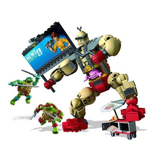Lego e megabloks tartarughe ninja 292390 per soli 34 99 for Lago tartarughe