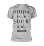 T-shirt Forrest Gump STUPID IS AS STUPID DOES