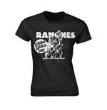 T-shirt Ramones GABBA GABBA HEY CARTOON