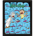 Rick And Morty (Mr. Meeseeks) (Poster Lenticolare 3D)