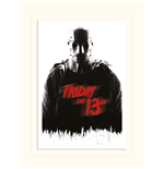 Friday The 13Th (Jason Voorhees) (Stampa 30X40 Cm)
