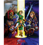 Legend Of Zelda (The) - Ocarina Of Time (Mini Poster 40X50 Cm)