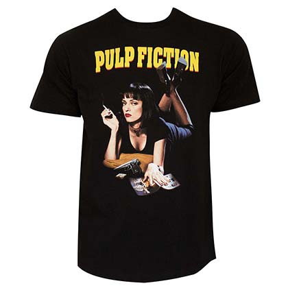T-shirt Pulp fiction da uomo