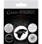 Game Of Thrones - Winter Is Coming (Pin Badge Pack)