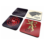 Game Of Thrones - Set Of 4 (Set 4 Sottobicchieri)