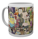 Rick And Morty - Characters (Tazza)