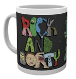 Rick And Morty - Letters (Tazza)