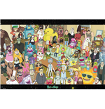 Rick And Morty - Cast (Poster Maxi 61x91,5 Cm)