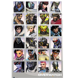 Overwatch - Character Portraits (Poster Maxi 61x91,5 Cm)