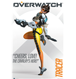 Overwatch - Tracer (Poster Maxi 61x91,5 Cm)
