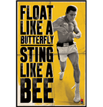 Muhammad Ali - Float Like A Butterfly (Poster Maxi 61X91,5 Cm)