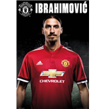 Manchester United - Zlatan Stand 17/18 (Poster Maxi 61x91,5 Cm)