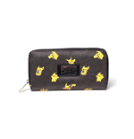 Pokemon - Pikachu Zipper Bifold Around Black (Portafoglio)
