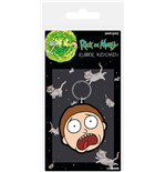 Rick And Morty - Morty Terrified Face (Portachiavi)