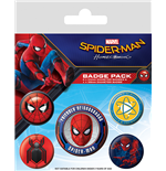 Spider-Man Homecoming (Badge Pack)