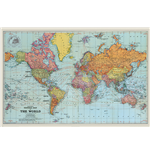 Stanfords General Map Of The World Colour (Poster Maxi 61X91,5 Cm)