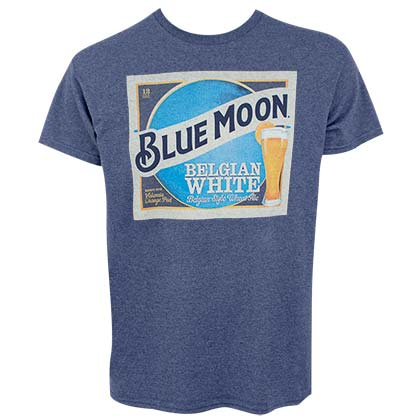 T-shirt Blue Moon da uomo