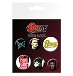 David Bowie - Mix (Badge Pack)