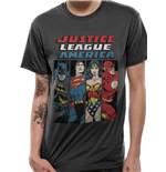T-shirt Justice League - Design: Line Up