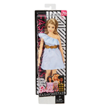 Mattel FJF41 - Barbie - Fashionistas - 76 Pinch Of Pinstripes Curvy