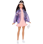 Mattel FJF71 - Barbie - Fashion And Beauty - Barbie Fashionista + Accessori/Vestiti Moda - Sporty