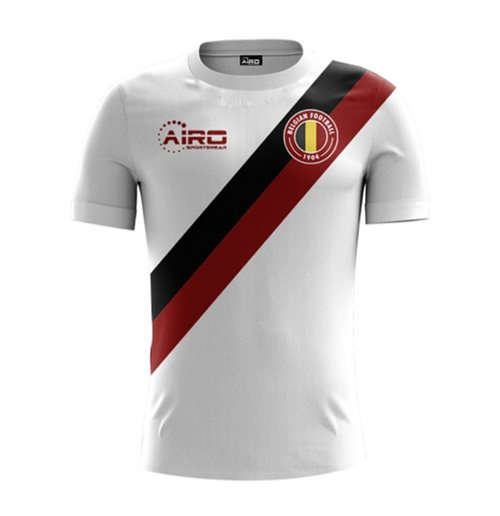T-shirt Belgio Calcio 2018-2019 Away
