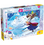 Frozen - Puzzle Double-Face Plus 60 Pz