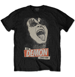 T-shirt Kiss da uomo - Design: The Demon Rock