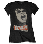 T-shirt Kiss da donna - Design: The Demon Rock