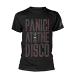 T-shirt PANIC! At The Disco OUTLINE NAME