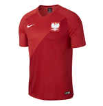T-shirt Polonia calcio 2018-2019 Away