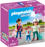 Playmobil 9405 - City Life - Shopping Village - Shopping Girls