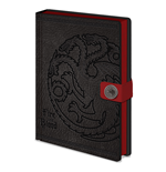 Game Of Thrones - Targaryen (Quaderno A5)