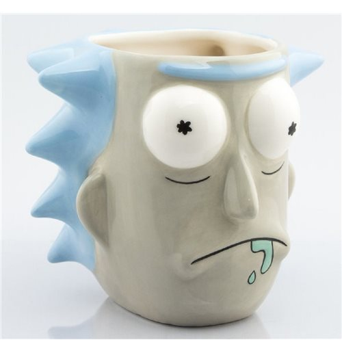 Rick And Morty - Rick Sanchez (Tazza 3D)