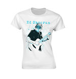 T-shirt Ed Sheeran Guitar Line Illustration