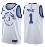 Maglia Golden State Warriors JaVale McGee Nike Hardwood Classic Replica