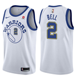 Maglia Golden State Warriors Jordan Bell Nike Hardwood Classic Replica