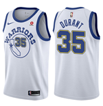 Maglia Golden State Warriors Kevin Durant Nike Hardwood Classic Replica