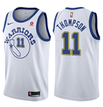 Maglia Golden State Warriors Klay Thompson Nike Hardwood Classic Replica