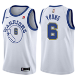Maglia Golden State Warriors Nick Young Nike Hardwood Classic Replica