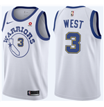 Maglia Golden State Warriors David West Nike Hardwood Classic Replica